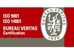 ISO14001、9001認証取得企業
